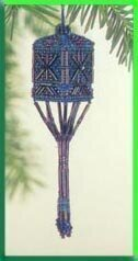 Wisteria Tassel Ornament Cross Stitch Kit