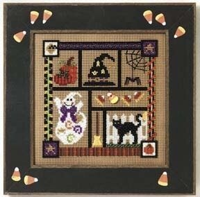 Spooky Collage - Cross Stitch Kit