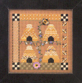 Bee Square - Cross Stitch Kit