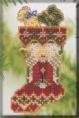 Angelic Stocking - Beaded Cross Stitch Kit
