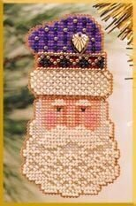 Father Christmas - Beaded Cross Stitch Kit