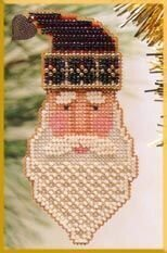 Saint Nick - Beaded Cross Stitch Kit