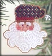 Father Frost - Beaded Cross Stitch Kit