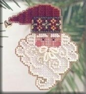 Santa Noel - Beaded Cross Stitch Kit