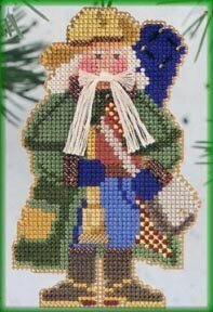 Southern Cross Santa - Beaded Cross Stitch Kit