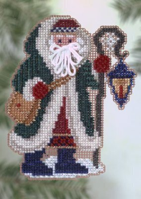 Glacier Santa - Cross Stitch Kit