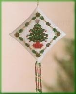 Holiday Trimmings Cross Stitch Kit