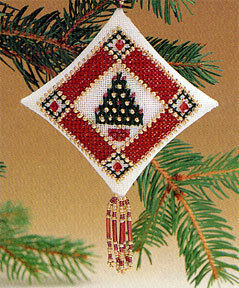 Petite Pine - Beaded Cross Stitch Kit