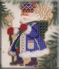 Frosty Santa - Woodland Santas (beaded kit)