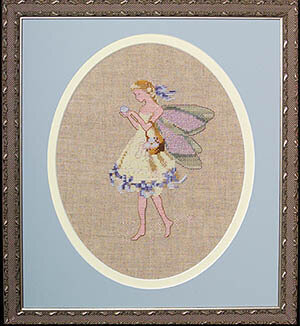 Easter Fairy - Mirabilia Cross Stitch Kit
