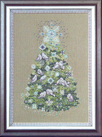 Christmas Tree 2007 - Mirabilia Cross Stitch Kit