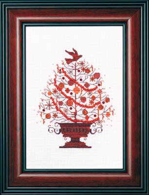 Mirabilia 2009 Christmas Tree - Cross Stitch Kit