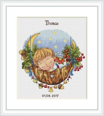 Lullaby for Son - Cross Stitch Kit