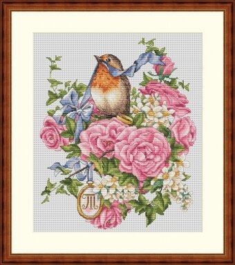 Wedding Ring For Him - Cross Stitch Kit
