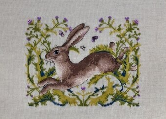 The Hare - Cross Stitch Kit