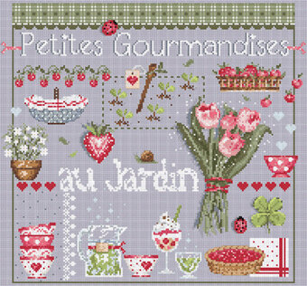 Petites Gourmandises (Little Treats) - Cross Stitch Pattern