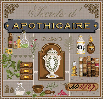 Secrets d'Apothicaire - Cross Stitch Pattern