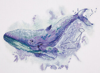 The Whale Constellation - Cross Stitch Kit