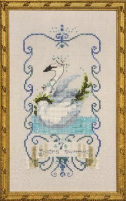 Seven Swans a Swimming - 12 Days of Christmas - Cross Stitch