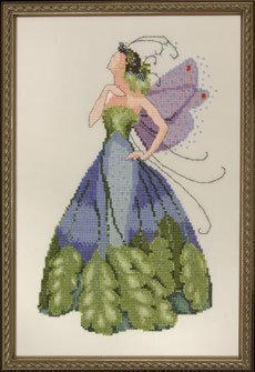 Maidenhair Spring Garden Pixie - Cross Stitch Pattern