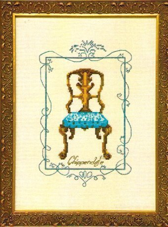 Chippendale - Cross Stitch Pattern