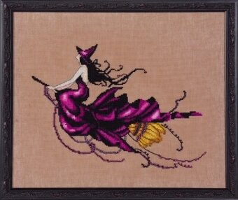 Eva (Bewitching Pixies) - Cross Stitch Pattern