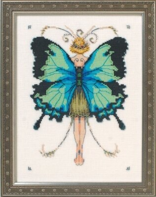 Miss Goss Swallowtail - Cross Stitch Pattern