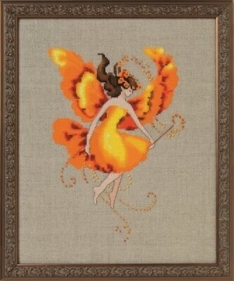 Autumn Flame - Cross Stitch Pattern