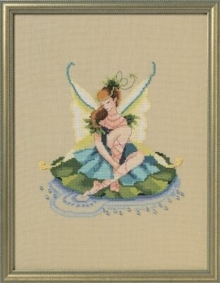 Lily Pad Sprite - Cross Stitch Pattern