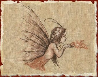 Poussiere de Fee (Fairy Dust) - Cross Stitch Pattern