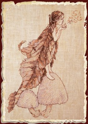 Coprins des Fees (Coprini Fairies) - Cross Stitch Pattern
