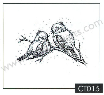Christmas Time - Christmas Birds - Clear Stamp