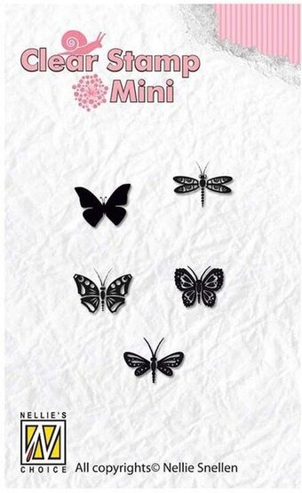 Butterflies - Nellie Snellen Clear Stamp