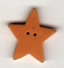 Nancy's Large Star - Button
