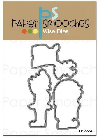 Paper Smooches Elf Icons Christmas Dies