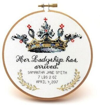 Her Ladyship - Cross Stitch Pattern