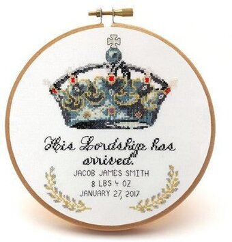 His Lordship - Cross Stitch Pattern