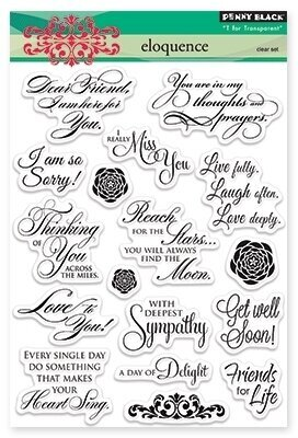 Eloquence - Clear Stamp