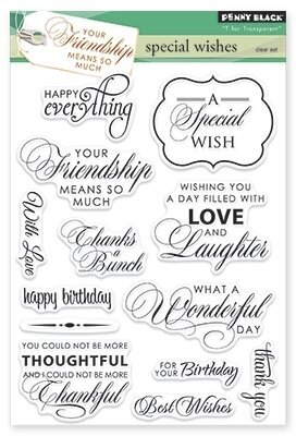 Special Wishes - Clear Stamp