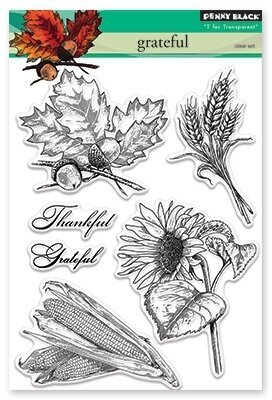 Grateful - Clear Stamp