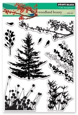 Woodland Beauty - Clear Stamp