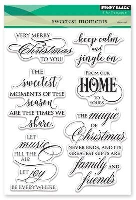 Sweetest Moments - Clear Stamp