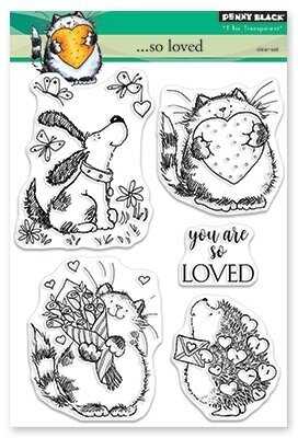 So Loved - Clear Stamp