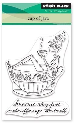 Cup of Java - Clear Stamp