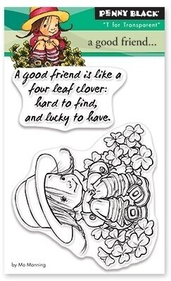 A Good Friend - Clear Stamp