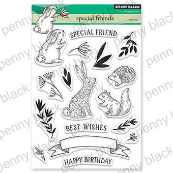 Special Friends - Penny Black Clear Stamp