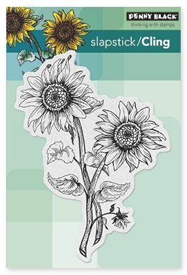 Sunny Pair - Slapstick Cling Rubber Stamp