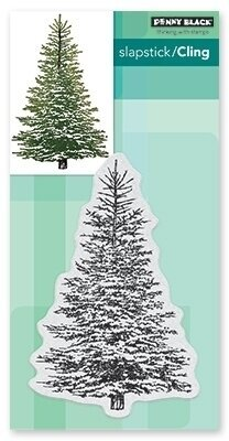 Winter Tree - Cling Rubber Stamp