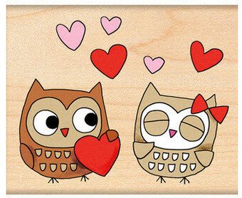Owl Always Love You - Wood Mounted Rubber Stamp