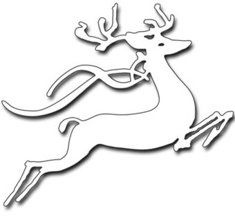Leap Of Joy Christmas Reindeer - Penny Black Creative Dies